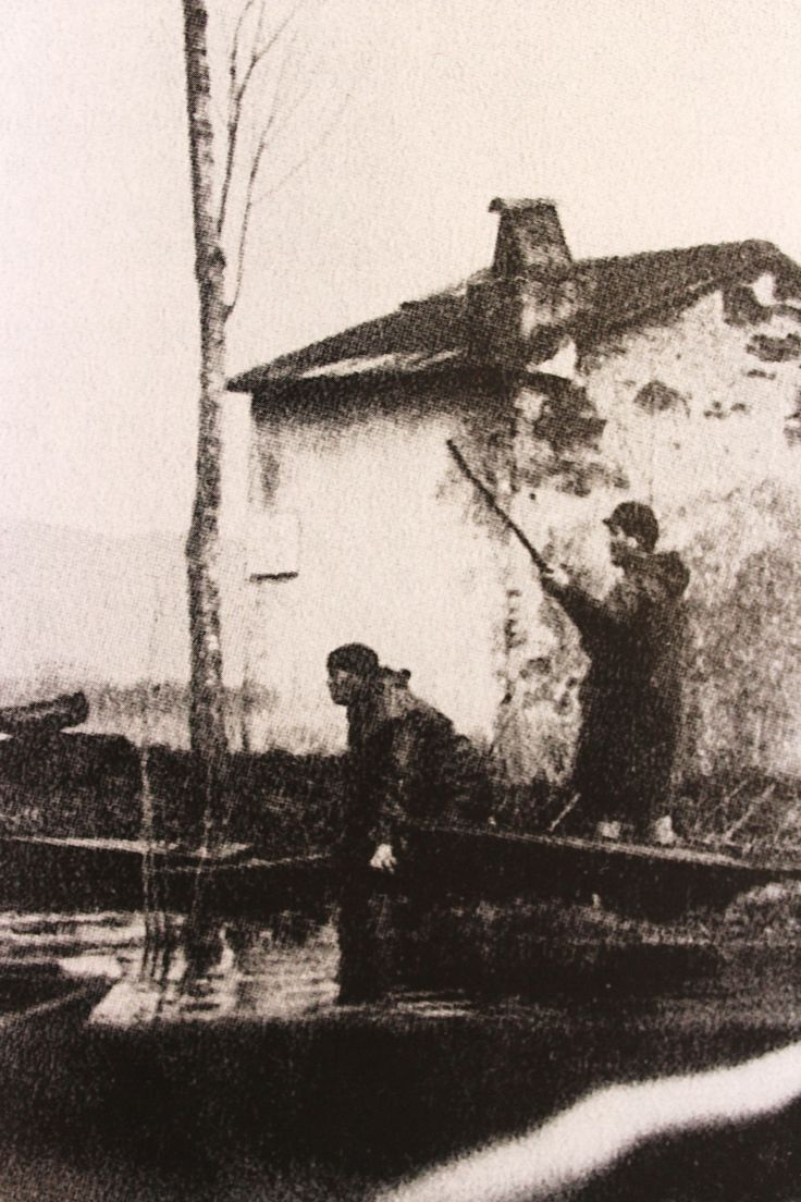 Cacciatori con barchino presso il Casin di Lillo.