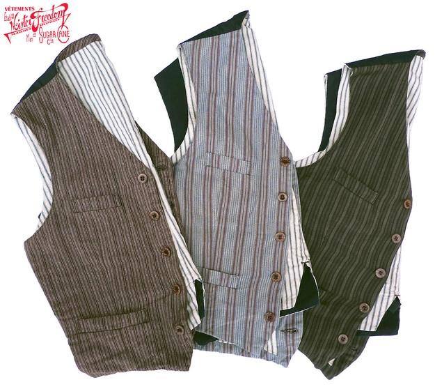 Men's Vests - love the material on these