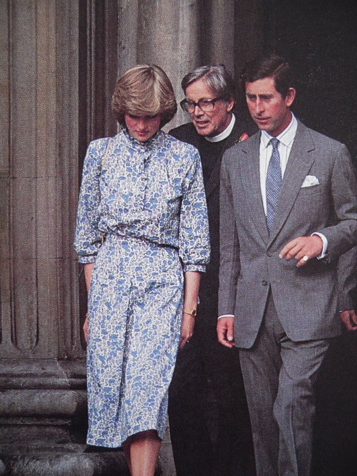 On Monday July Prince Charles And Lady Diana Spencer Attended A Final Rehearsal Prior To Their Wedding