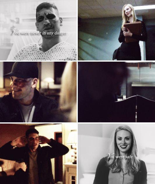 Daredevil - Karen Page & Frank Castle