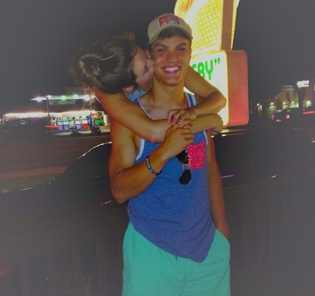 Sadie Robertson and her boyfriend Blake