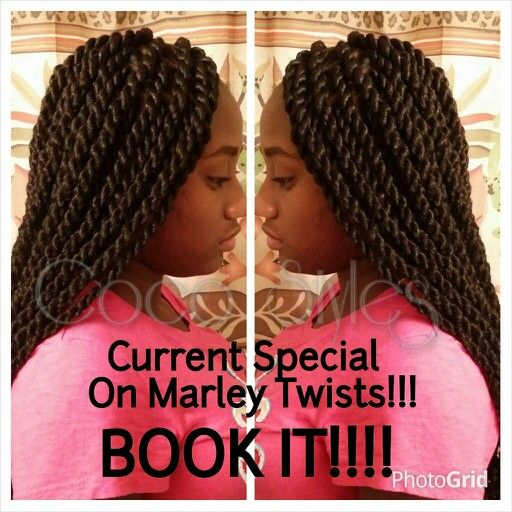 Current special on Marley Twists!!! Text 770-685-0944 for details and book online at www.styleseat.com/cocostyles #cocostyles81 #cocostyling #atlantabraider #marleytwists #havanatwists #braids #ProtectiveStyling #ProtectiveStyles #marleybraidhair #naturalhairstylist #naturalhairdaily