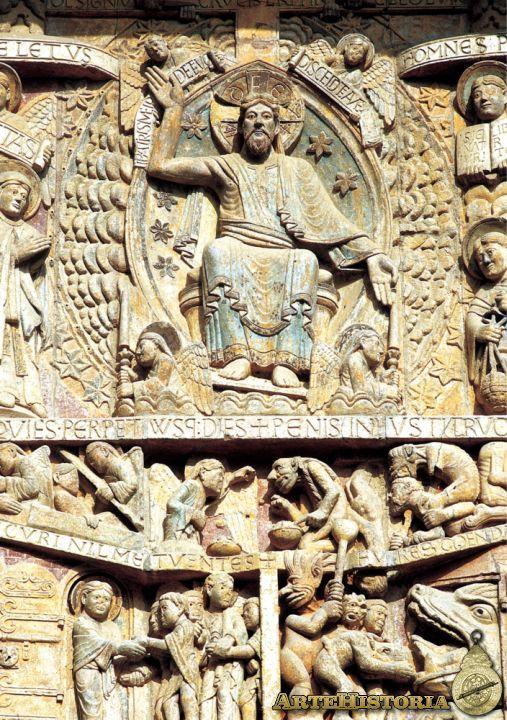 Iglesia de Santa Fe de Conques. Cristo en majestad - Obra - ARTEHISTORIA V2