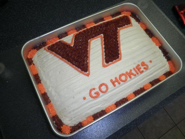 Virginia Tech Birthday Cakes