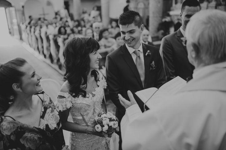 Couple had their ceremony in Kastav, Croatia