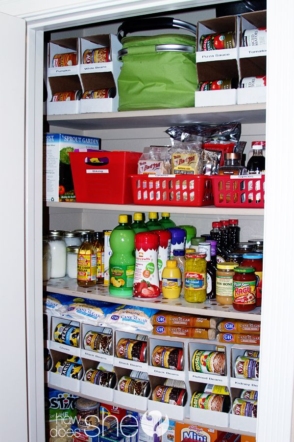 Cardboard Canned Food Organizers