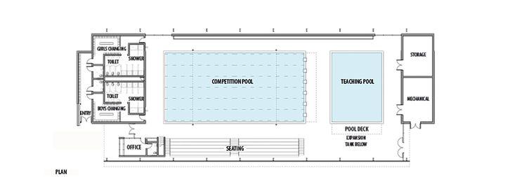 Galeria De Centro Acuatico AISJ Flansburgh Architects