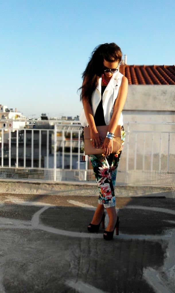 Zara vest and H pants!