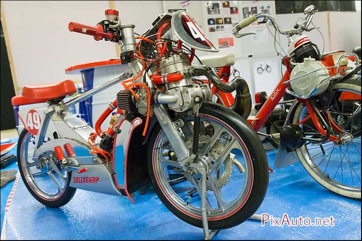 Salon-Moto-Legende, Solex De Course