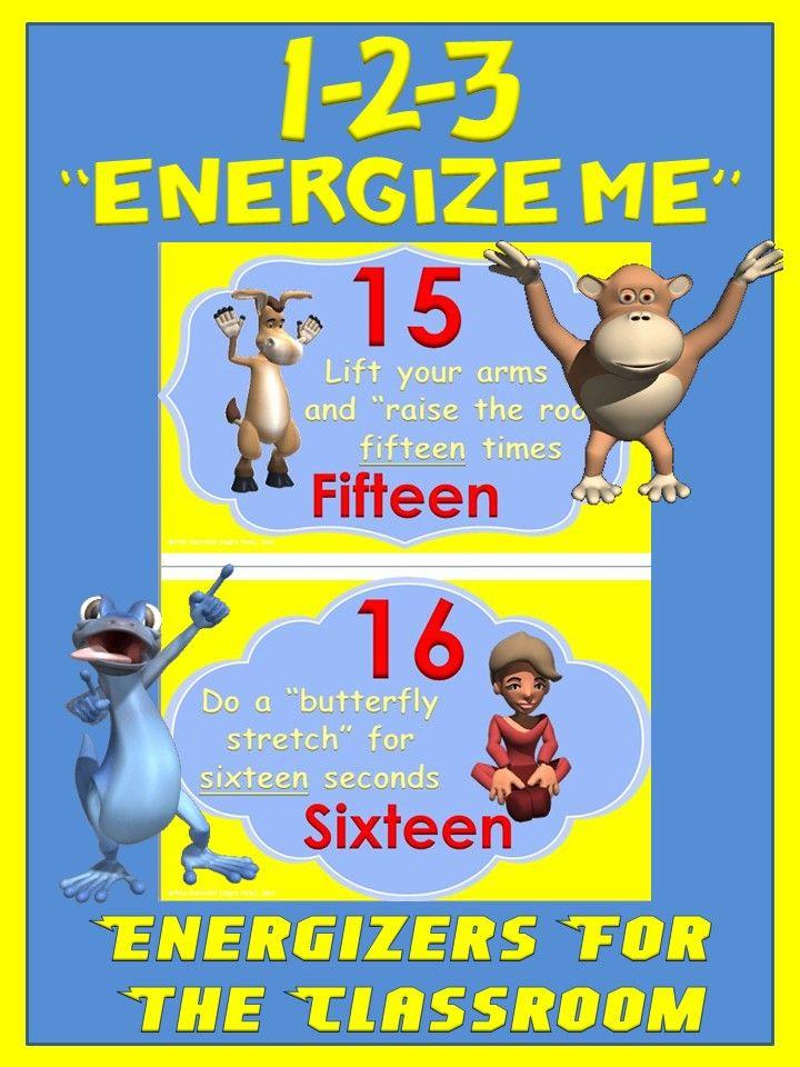 Classroom Energizer Ideas ~ Best cap n pete s classroom movement tpt products