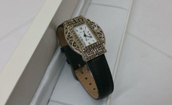 Jean Paul Armbanduhr mit Markasiten UU102 von Schmuckbaron auf Etsy