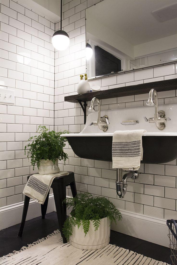 Virtu usa hazel 56 inch single sink bathroom vanity set free - Deuce Cities Henhouse Bathroom Reveal