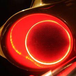 Motorcycle LED Speaker Rings