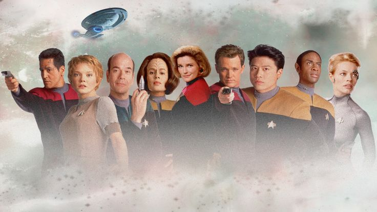 Star Trek Voyager...  On Netflix.  LOVED it!