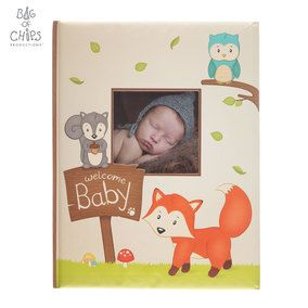 Woodland Friends Soft Baby Memory Book