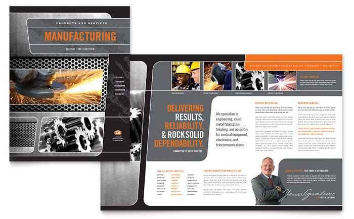 17 best ideas about manufacturing engineering on pinterest for Engineering brochure templates