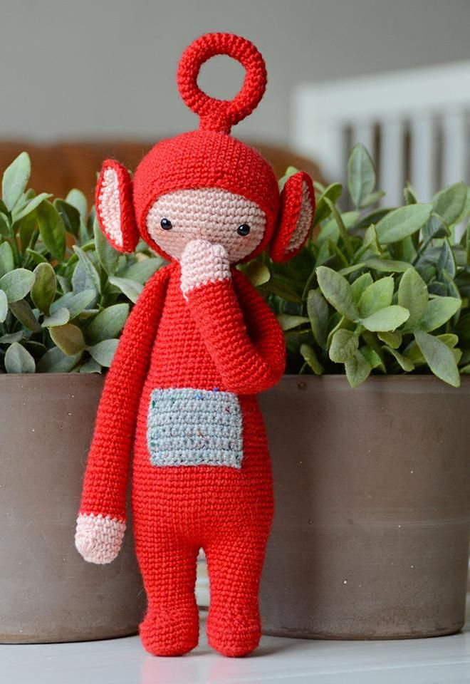 Teletubbies Knitting Pattern : 83 best Crochet lalylala images on Pinterest Crochet dolls, Amigurumi and A...