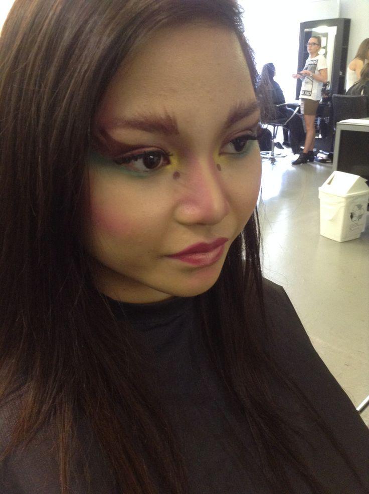 Bjork inspired makeup