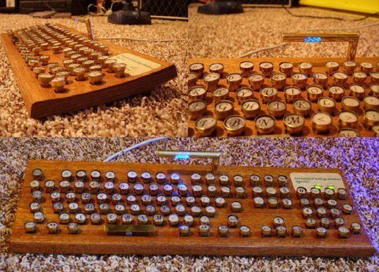 DIY Project: Make Your Own Great Steampunk Keyboard
