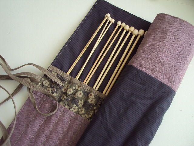 Pochette range aiguilles machine coudre et accessoires for Aiguille a couture