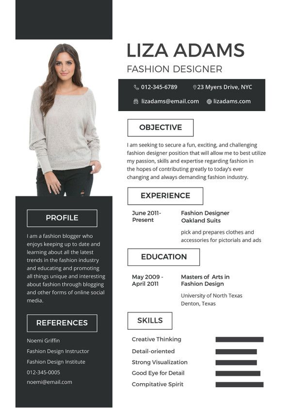 40+ Blank Resume Templates - Free Samples, Examples, Format Download