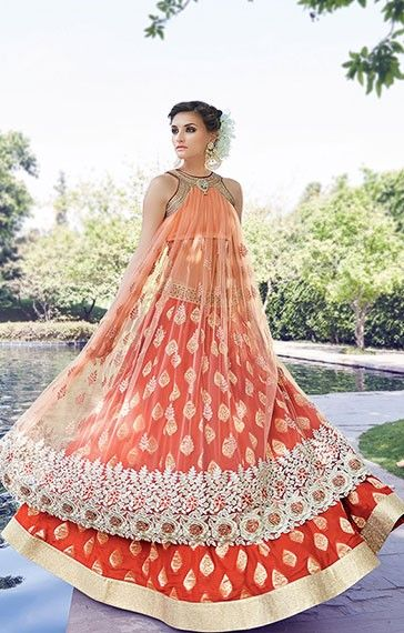 Precious #Peach #Lehenga #Palazzo Suit Buy @ https://www.ethanica.com/collections/latest-products/products/precious-peach-lehenga-palazzo-suit?variant=21768158339 Product code : SD1280