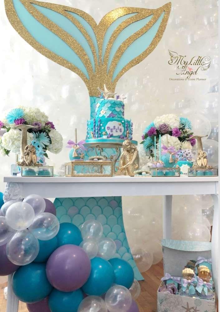 Mermaid Tails Birthday Party Ideas Mermaid Theme Party Sea