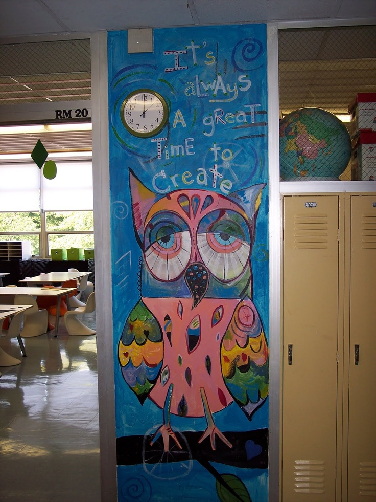 17 best images about school decoration ideas on pinterest for Classroom mural ideas