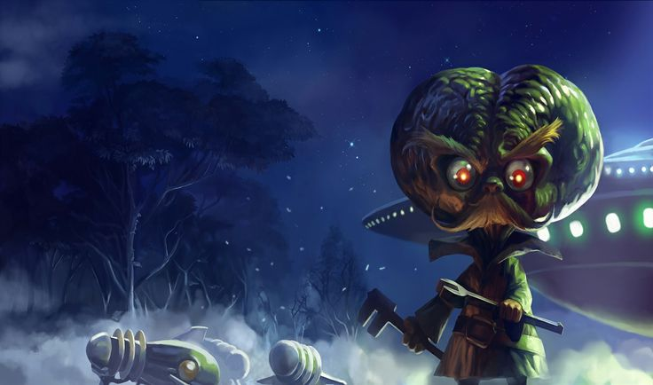Uzaylı Heimerdinger | League of Legends