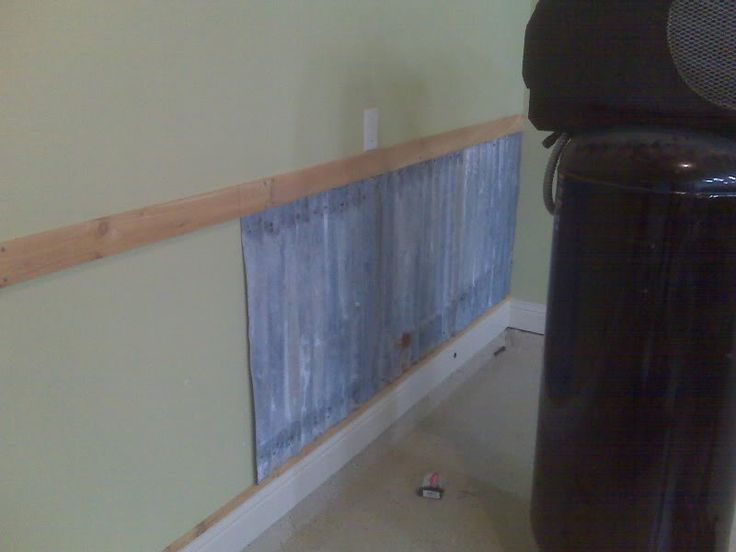 2182 best images about cabin ideas on pinterest - Using corrugated metal for interior walls ...