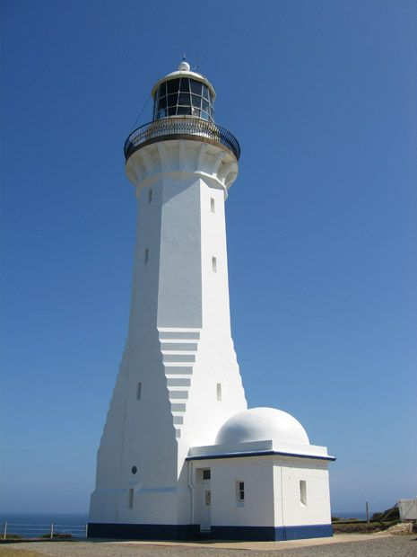 The Green Cape Lighthouse, in New South Wales, was built in 1883 and was the first cast concrete lighthouse tower in Australia. It is also the tallest lighthouse in New South Wales.
