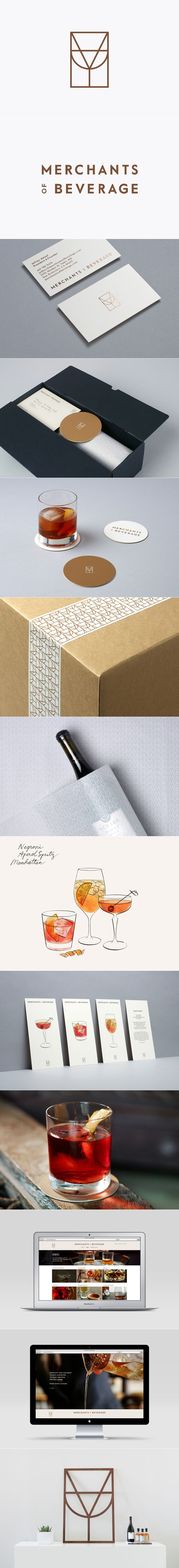 Merchants of Beverage brand by Manual