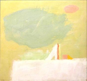 Eugène Brands - abstract landschap www.kunstzolder.be
