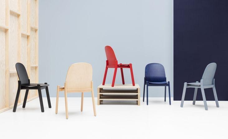 Krzesło Nordic od NOTI www.euforma.pl #chair #iker #home #livingroom #design