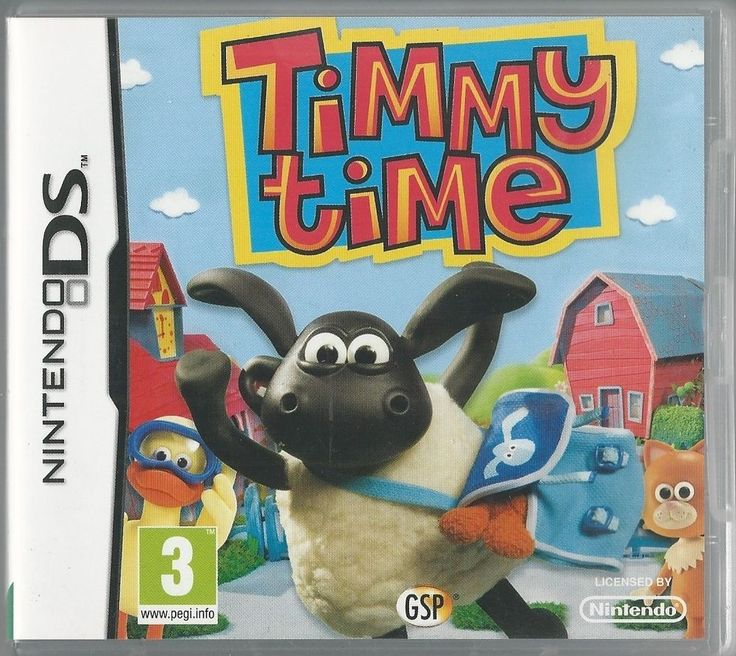 Nintendo Ds Timmy Time (plays 3ds in 2D)