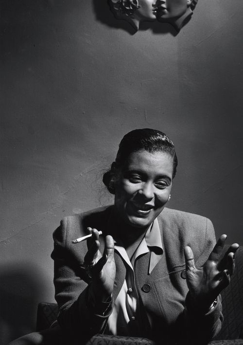 Billie Holiday, 1949 Photographed by Herman Leonard