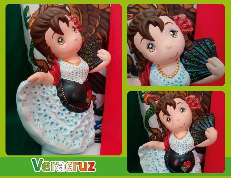 Traje típico de Veracruz (Jarocha) - Veracruz regional costume