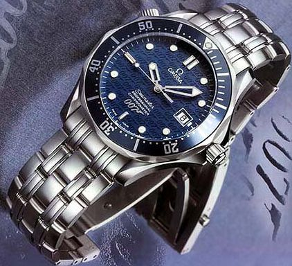 The first Omega Seamaster 007 Limited Edition watches...a very collectible, beautiful piece.