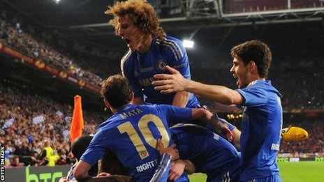 May 15 Branislav Ivanovic struck a dramatic stoppage-time winner to secure a historic Europa League trophy victory for Chelsea at the expense of Benfica.