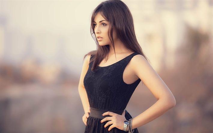 Lataa kuva Madhu Shalini, kauneus, intialainen näyttelijä, ruskeaverikkö, mallit, Bollywood