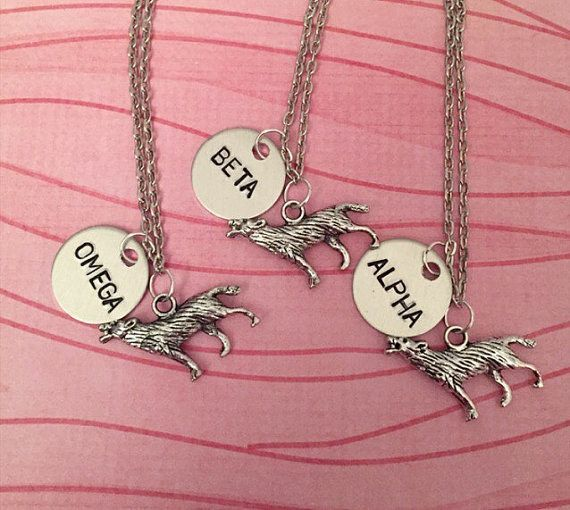 These friendship necklaces for your very own wolf pack. | 32 Wonderful Products You Need If You Love Wolves