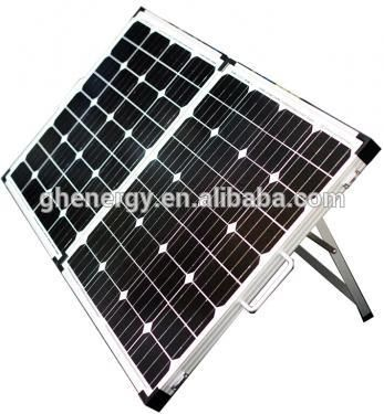 GH SOLAR-Camping Energency Folding Solar Kits Solar Panel Flexible Solar Panel,120w Anti Dumping Free Solar System