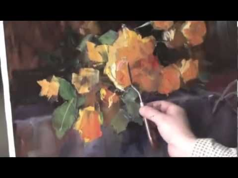 """FREE! Full video """"yellow roses"""" painter Igor Sakharov"""