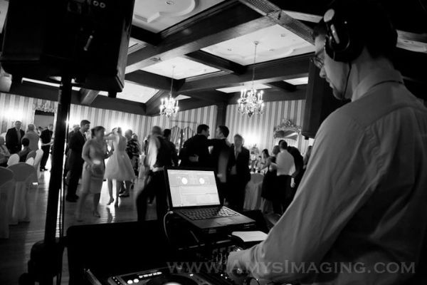 Wedding DJ at Old Mill Inn, Toronto by Scotia Entertainment - http://www.ScotiaEntertainment.com Photo Credit: Amy's Images