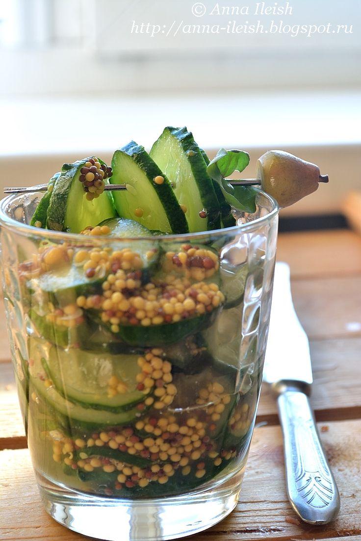 Вкусные домашние обеды: Огурчики в маринаде