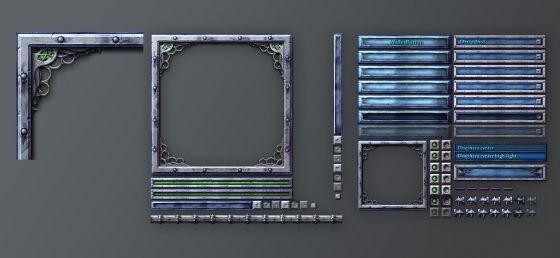 Antonw.com | Portfolio | Fantasy Game GUI