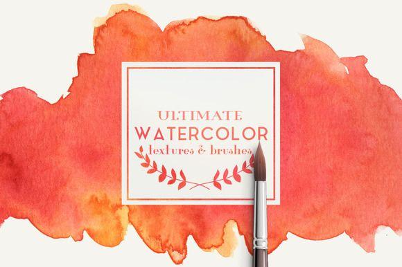 Ultimate watercolor textures @creativework247
