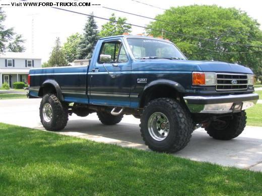 1990 Ford F250 Truck | KhakiOutlaw's FordF250 Regular Cab | For ...