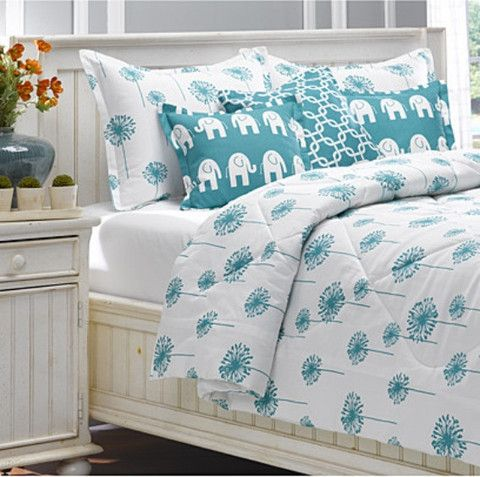 Superieur This Turquoise Dandelion Bedding Is Not Only Perfect For Your Home, But  Also For Your