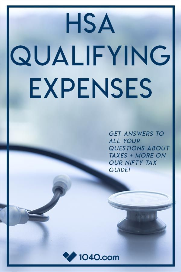 An HSA qualifying medical expense is an expense that ...